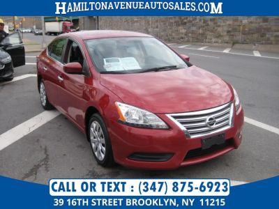 2013 Nissan Sentra S (Red Brick)
