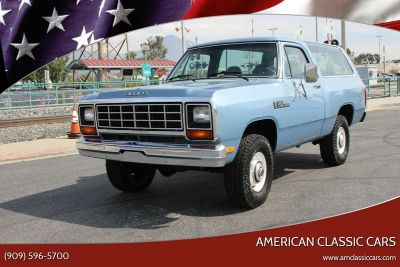 1984 Dodge Ramcharger 150 2dr 4WD SUV