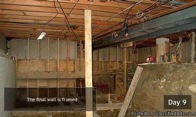Basement Renovation Contractors in Cook County