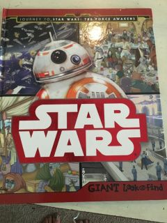 Star Wars Look and Find book
