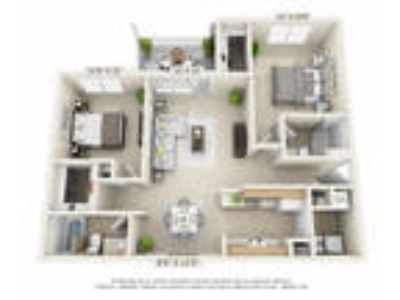 Trails of Saddlebrook - Two BR, Two BA (2nd Floor Balcony)