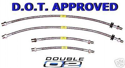 Find BMW E31 Brake LINES Hoses DOT APPROVED 8-series 840 850 i ci csi STEEL New USA motorcycle in Hayward, California, United States, for US $84.95