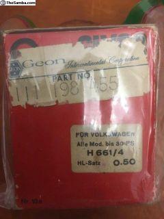NOS Main Bearing Glyco (111 198 455 B) German
