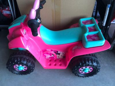 Minnie Power wheels (battery operated)