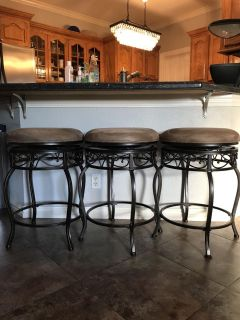 Barstools (Set of 3) - Counter Height