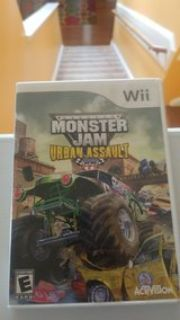 Wii Monster Jam Urban Assault