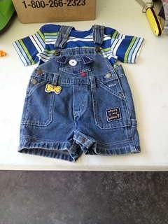 6-12 mos- puppy dog outfit