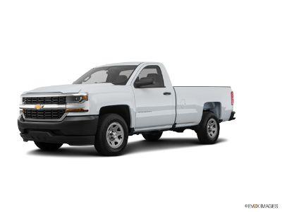 2018 Chevrolet Silverado 1500 1500  REG CAB SIL (Summit White)