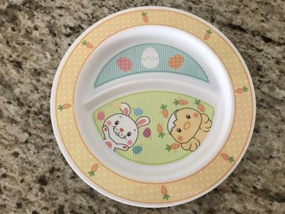 Bunny/ Chick plate