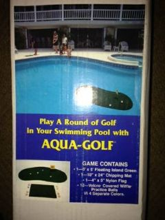 Aqua -Golf Swimming Pool Chipping Green