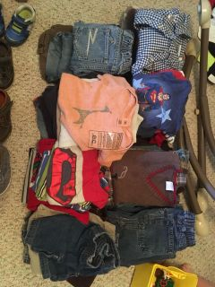 18mo-5T Boys Clothes and shoes lot