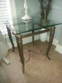 glass coffee  side table