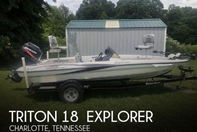 2008 Triton 18 explorer
