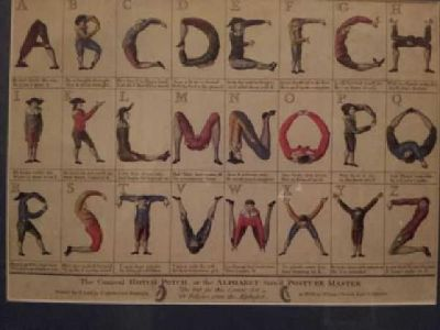 $50 1700s Alphabet print (Bentonville)