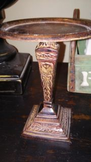 Detailed stand decor
