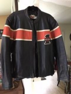 Leather Harley Davidson riding jacket xl