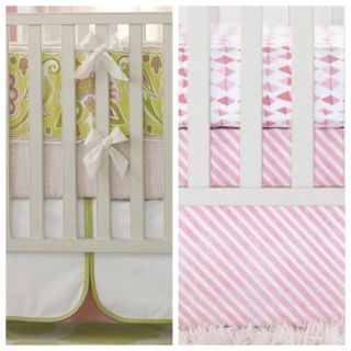 Serena and Lily boutique crib skirts