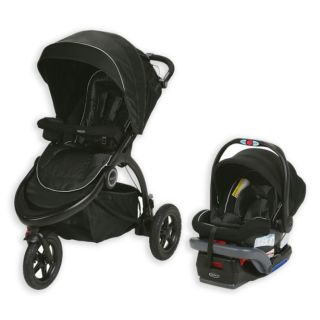 NEW-Graco Trailrider Jogger Travel System in Comet