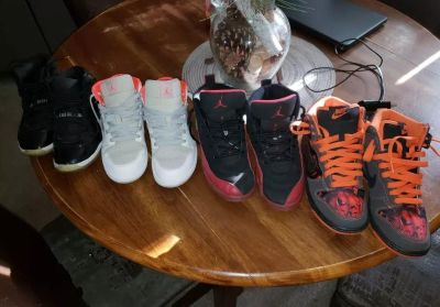 Multiple shoes size 3y for sale 4 for 100 2 for 60 1 for 30 need gone now