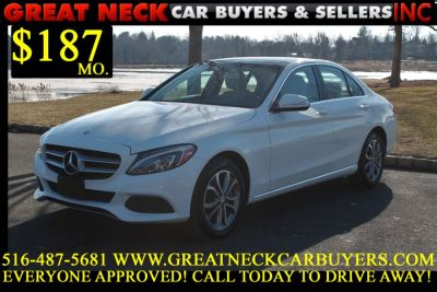 2015 Mercedes-Benz C-Class 4dr Sdn C300 4MATIC (White)