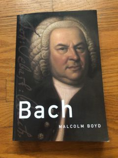 Music History Book about Bach