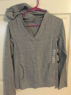 Women size Small hooded top