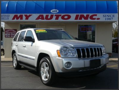 2005 Jeep Grand Cherokee Limited (Bright Silver Metallic)