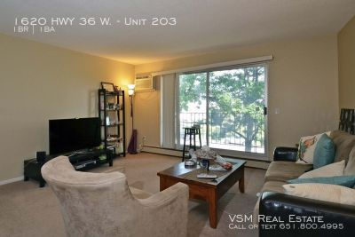 Avail 8/1! Spacious 1BD 1BATH Roseville Condo With Many Included Amenities & Convenient Location!!