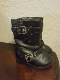Baby Girl Boots Size 3