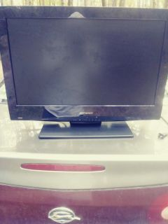 """Emerson 26"""" HD tv with built in dvd"""