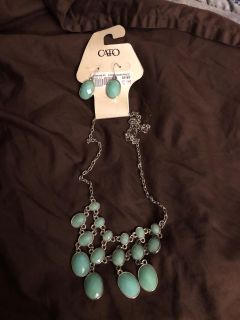 Necklace & earrings from CATO 3.00