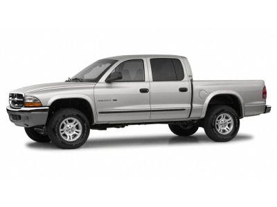 2002 Dodge Dakota SLT (Black)