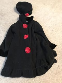 24 month winter dress coat and hat