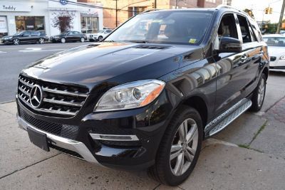 2015 Mercedes-Benz M-Class ML350 4MATIC (Black)