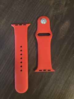 42mm Apple Watch Red Band