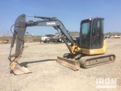 2010 (unverified) John Deere 50D Mini Excavator
