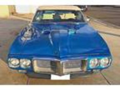 1969 Pontiac Firebird 2door V8 455 Blue