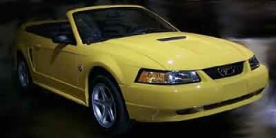 2000 Ford Mustang Base (Silver)