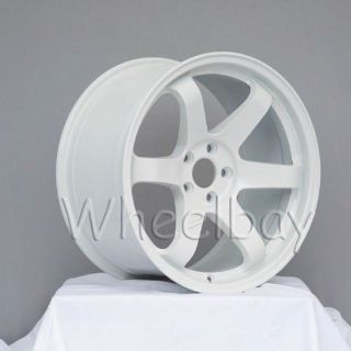 Sell ROTA WHEEL GRID 18X9.5 5X100 38 73 WHITE WRX FRS motorcycle in Hayward, California, United States, for US $995.00