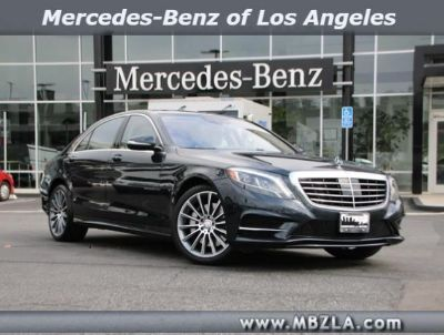 2016 Mercedes-Benz S-Class S550 (ANTHRACITE BLUE)