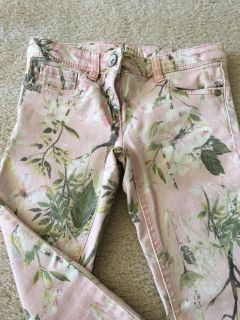 Next Exclusive brand printed Skinny girls size 7-8 jeans