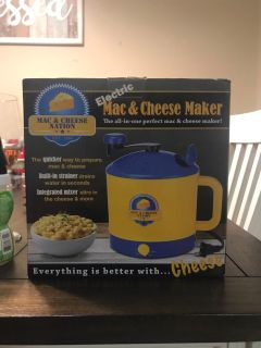 Brand new Mac & Cheese maker