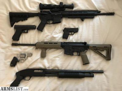 For Sale/Trade: FS/FT AR 15, Glock 17, SR556, DPMS, etc.
