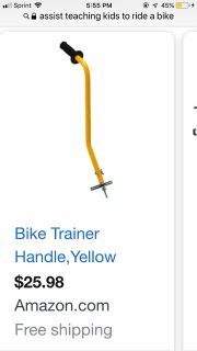 Bike Trainer Assist/ Like New