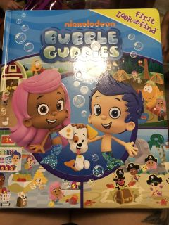 Bubble guppies look and find book