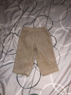 Like new girls carters pants size 6 months