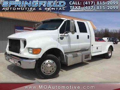 Used 2002 Ford F550 Super Duty Crew Cab & Chassis for sale