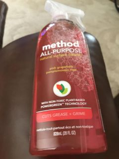 METHOD CLEANER 3 OF THESE IN DIFFERENT COLORS