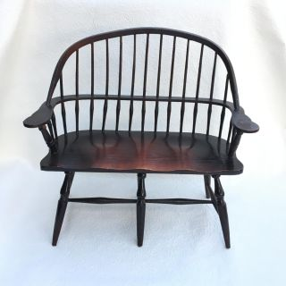 Doll Furniture Large Wooden Loveseat or Settee for American Girl Size Dolls