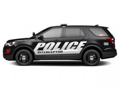 2019 Ford Explorer Police Interceptor (Agate Black)